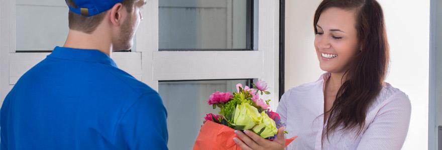 Livraison de fleurs à domicile